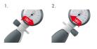 Erka Switch - transformace tonometru pro leváky nebo praváky