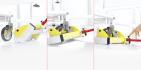 seca 985 - vložení vážící jednotky pod postel
