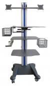 weiko mr1 - přístrojový stolek pro ergostik, zátěžové EKG a canopy