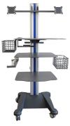 weiko mr2 - přístrojový stolek pro ergostik a zátěžové EKG