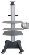 weiko mr3 - přístrojový stolek pro zátěžové EKG