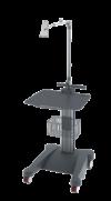 weiko mr8 - přístrojový stolek pro přímopíšící EKG